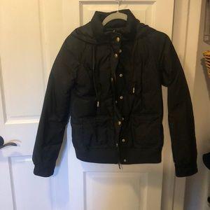 juicy Couture black down coat